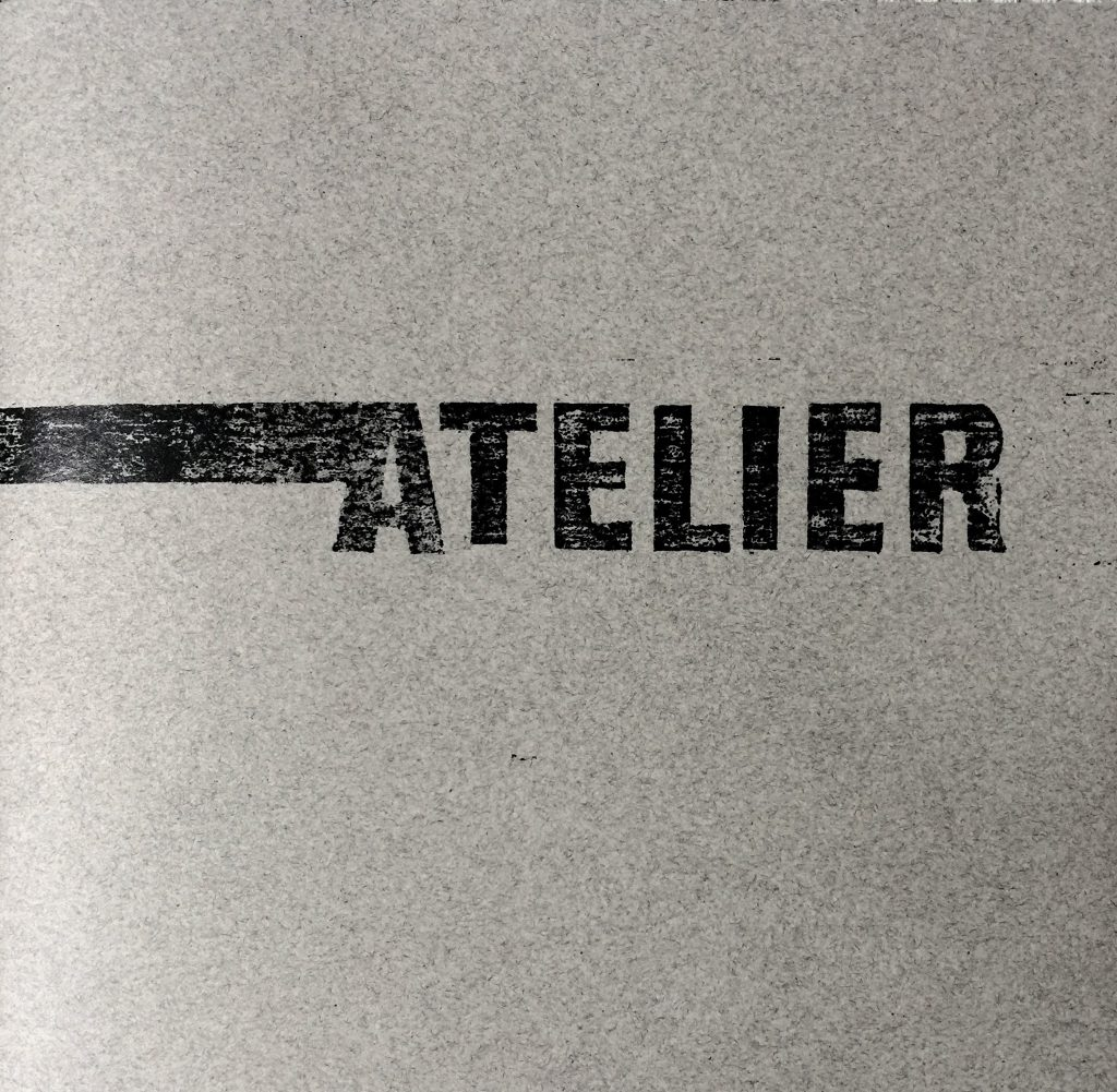 Atelier is a book of poems that was written by John Most